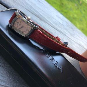 Pre-loved Furla Red Watch